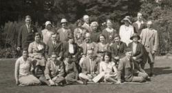 Lindsey Local History Society Summer School at Woodhall Spa, 1931