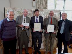 SLHA Award Winners 2011. Presentation at AGM in Stamford, June 2012
