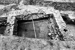 Excavation of Roman building, Ancaster