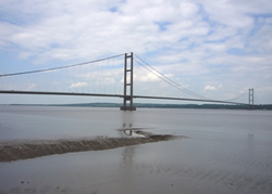 Humber Bridge from Barton