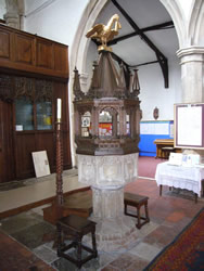 Burgh le Marsh, St Peter and St Paul, font