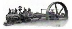 Marshall steam engine