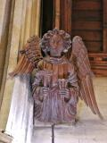Scunthorpe, St John, Chancel, Angel Corbel