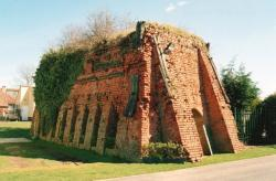 Brick kiln at Sutton on Sea