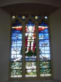 Welton, St Mary, stained glass